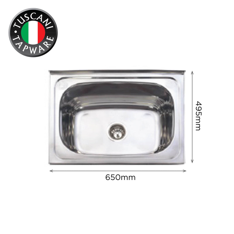 L650 - Wall Mounted Kitchen Sink