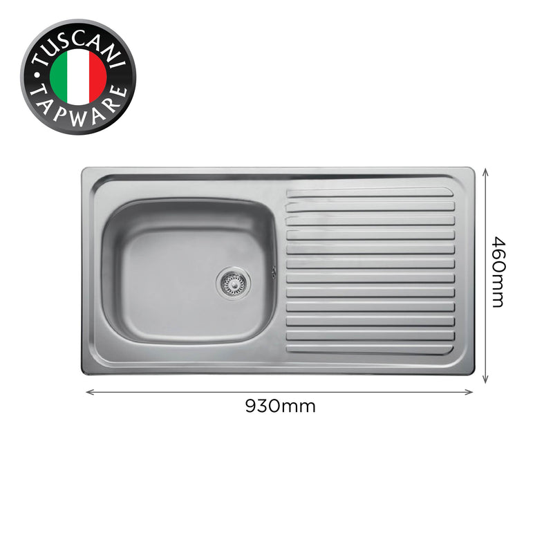 L930 - Wall Mounted Kitchen Sink