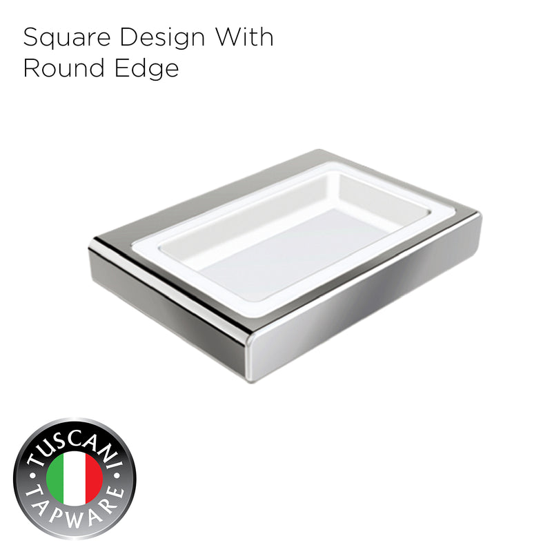 Q3SD - QUATRIO Series Soap Dish - Bathroom Accessories