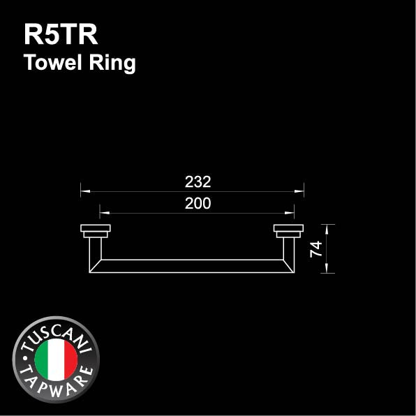 R5TR - RONDANA Series Towel Ring - Bathroom Accessories