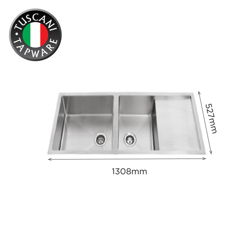 SQM1308 - Under-Mount Kitchen Sink