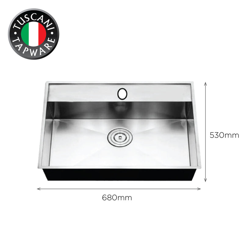 SQM680-P - Under-Mount Kitchen Sink