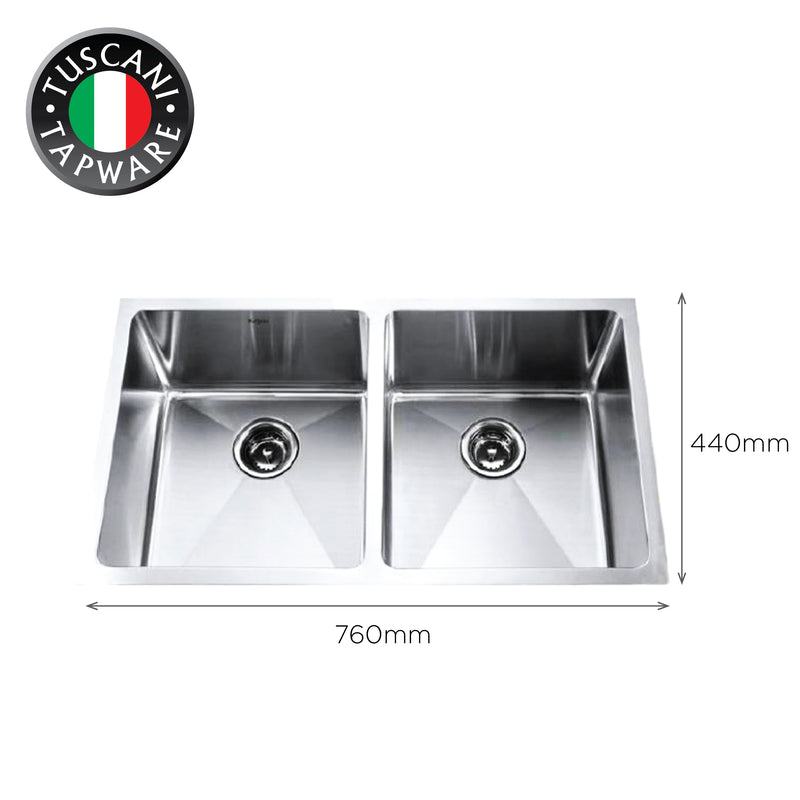 SQM760 - Under-Mount Kitchen Sink