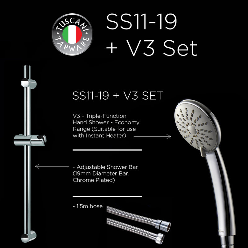 SS11-19 + V3 - Shower Set