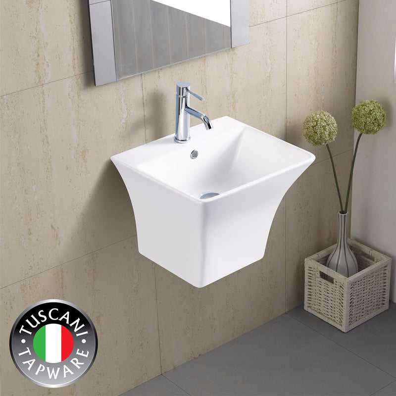 TBJ5400B - Wall Mounted Designer Basin