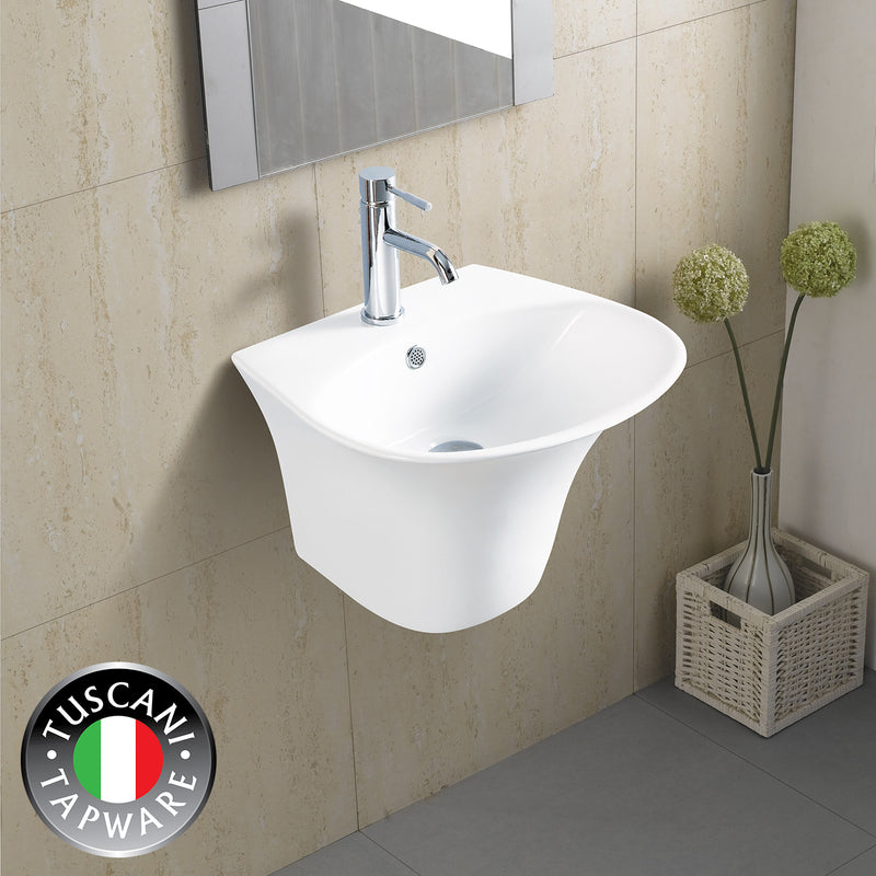 TBJ5600C - Wall Mounted Designer Basin