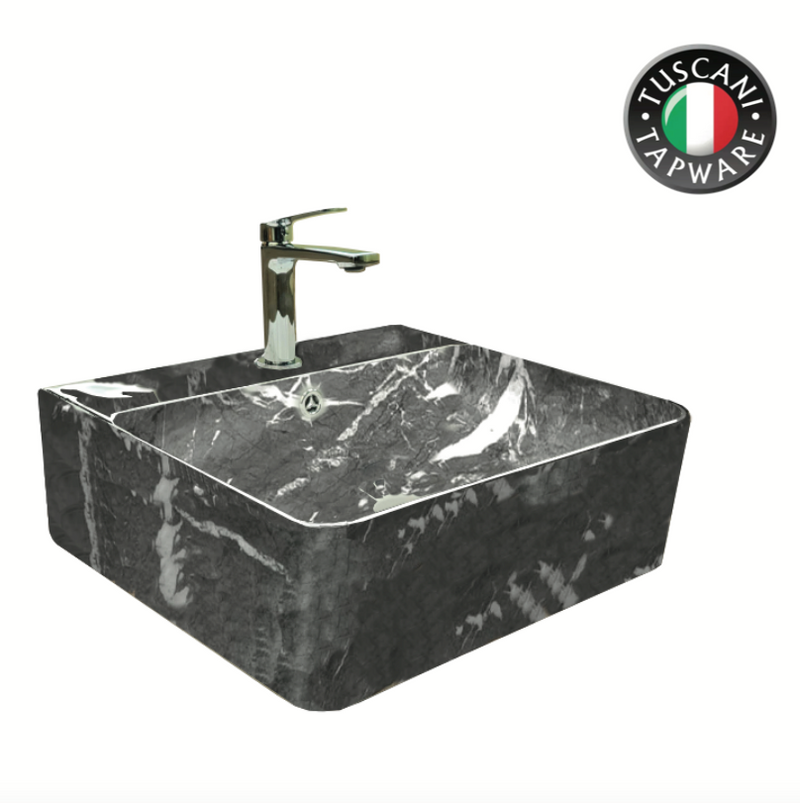 TBP1020-449G Marble Design Deck & Wall Mounted Basin
