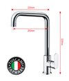 TF11C3 - FLAVIO Series Kitchen Tap - Cold Taps