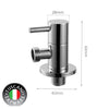 TH-S5 - HYDROSMITH Series Angle Valve - Cold Taps