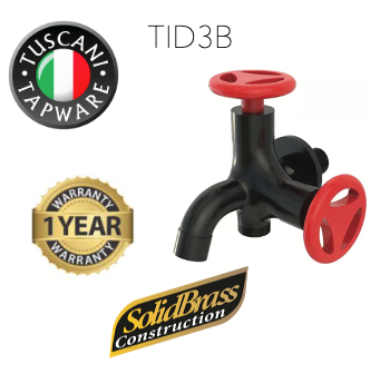 TID3B - INDUSTRIAL Series Two Way Tap - Cold Taps