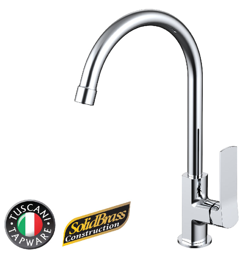 TF12C - FLAVIO Series Kitchen Tap - Cold Taps