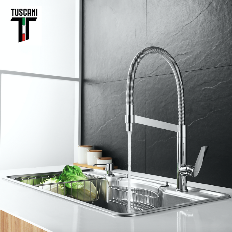TK17PO - KITANIA Series Pull Out Kitchen Tap -  Cold Tap