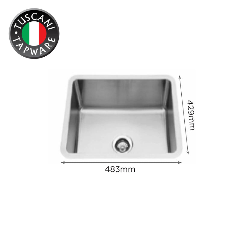 U483NC - Under-Mount Kitchen Sink