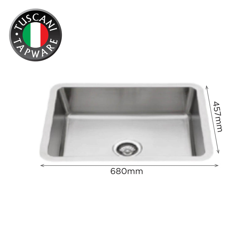 U680NC - Under-Mount Kitchen Sink