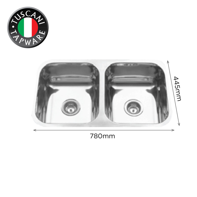 U780 - Under-Mount Kitchen Sink