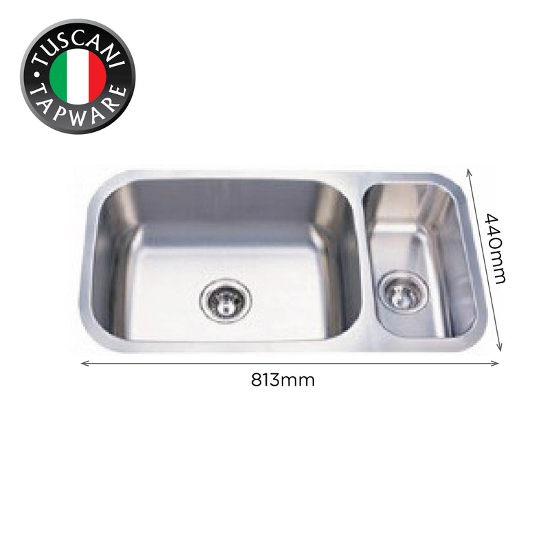 U813 - Under-Mount Kitchen Sink