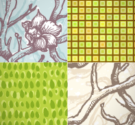June Seamless Patterns