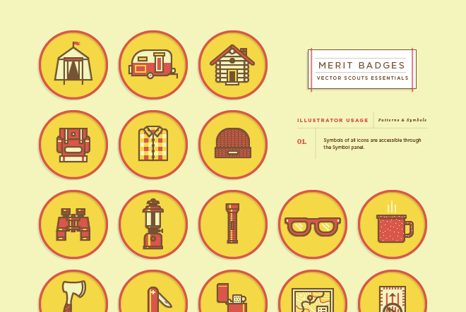 VS Merit Badges