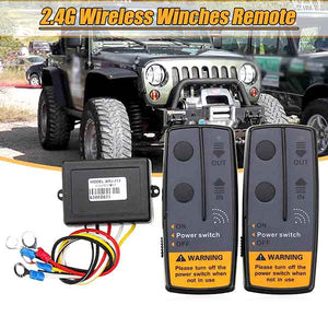 Winches Wireless Remote Control Kit 2.4G 12V/24V