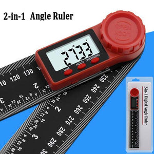 Digital Angle Ruler Inclinometer / Goniometer 0-200mm