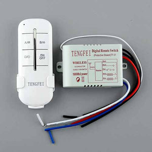 Wireless Remote Control Switch 1 to 4 Channel ON/OFF 5A 230V
