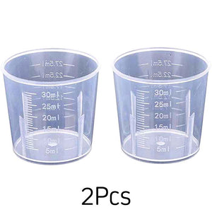 Measuring Cups to Measure Resins 2Pcs