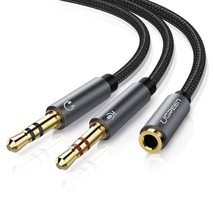 Ugreen 3.5mm Female to 2 Male Mic Splitter