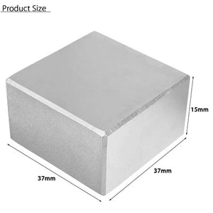 Neodymium Square Magnet 37x37x15mm Block