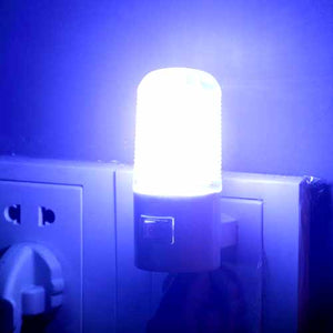 Plugin 3w LED Small Night Light with Switch