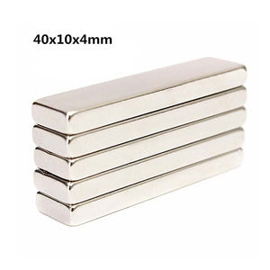 Neodymium Bar Magnet Block 40x10x4mm