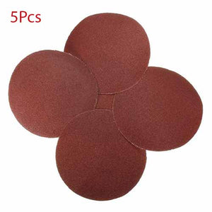 5pcs 80 Grit Sandpaper Sanding Disc Sand Sheet 150mm