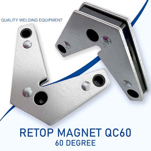 Magnetic Welding Holder 2Pcs / Corner Magnet 60° & 90°