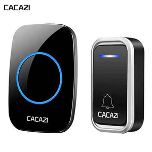 CACAZI Plug-in Remote Wireless Doorbell