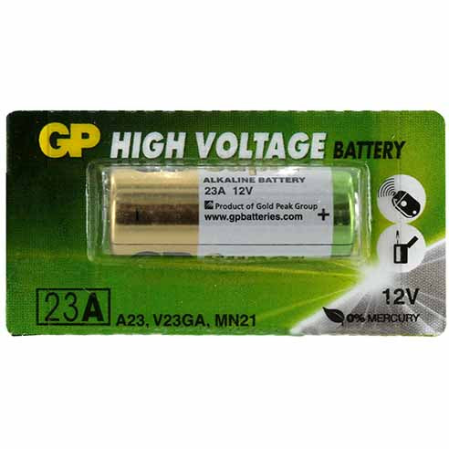 GP A23 12V  Alkaline Battery