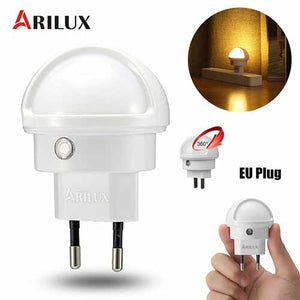 ARILUX 360° Rotating Smart Night Light for Bedroom