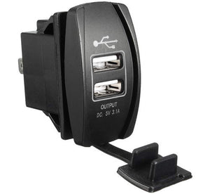 Car, 4x4, Dual USB Charger 5V 3.1A Output