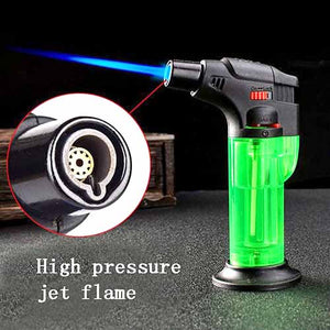 High Pressure Refillable Butane Lighter with Adjustable Flame