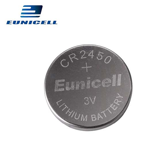 Eunicell CR2450 Lithium 3V Coin Cell Battery