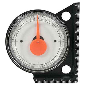 Analog Inclinometer, Tilt Level Meter with Magnetic Base