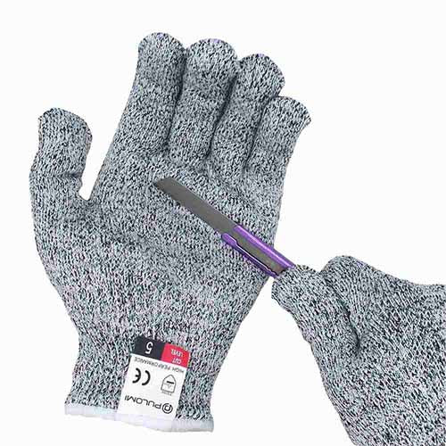 Cut Resistant Gloves Food Grade Level 5 Hand Protection