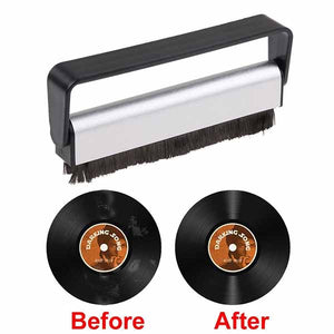 Anti-Static Carbon Fiber LP Vinyl Record Brush