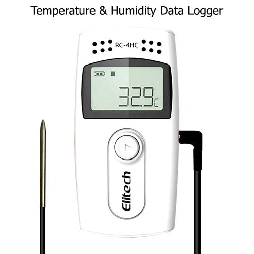 Elitech RC-4HC Temperature and Humidty Data Logger
