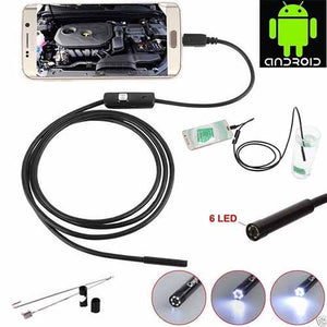 Waterproof Inspection Wire Camera Endoscope for Android & PC
