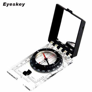 Professional Quality Mirror Compass with Ruler - Type 04