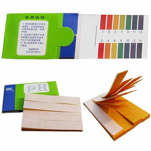 Litmus Testing Kit 1-14 Ph Paper 80 Strips
