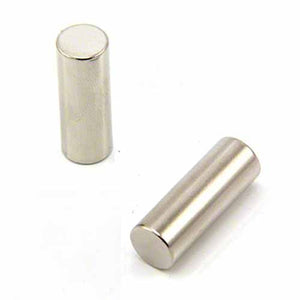 Long Cylinder Neodymium Magnets 10mm x 20mm
