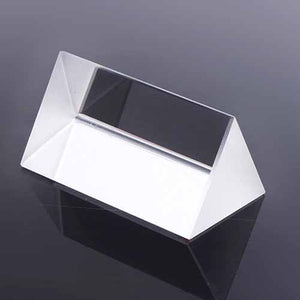 Optical Glass Triangular Prism 5cm
