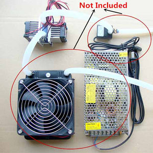 Peltier Thermoelectric Cooling System & Fan Kit