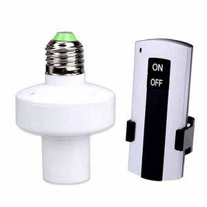 Remote Control Light Switch with Bulb Holder