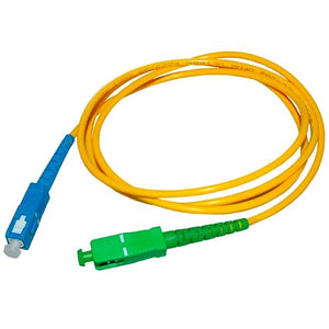Fiber Jumper Cable Patch Cord SC APC to SC UPC